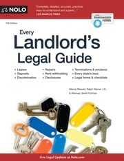 Every Landlord's Legal Guide ebook by Janet Portman,Marcia Stewart,Ralph Warner