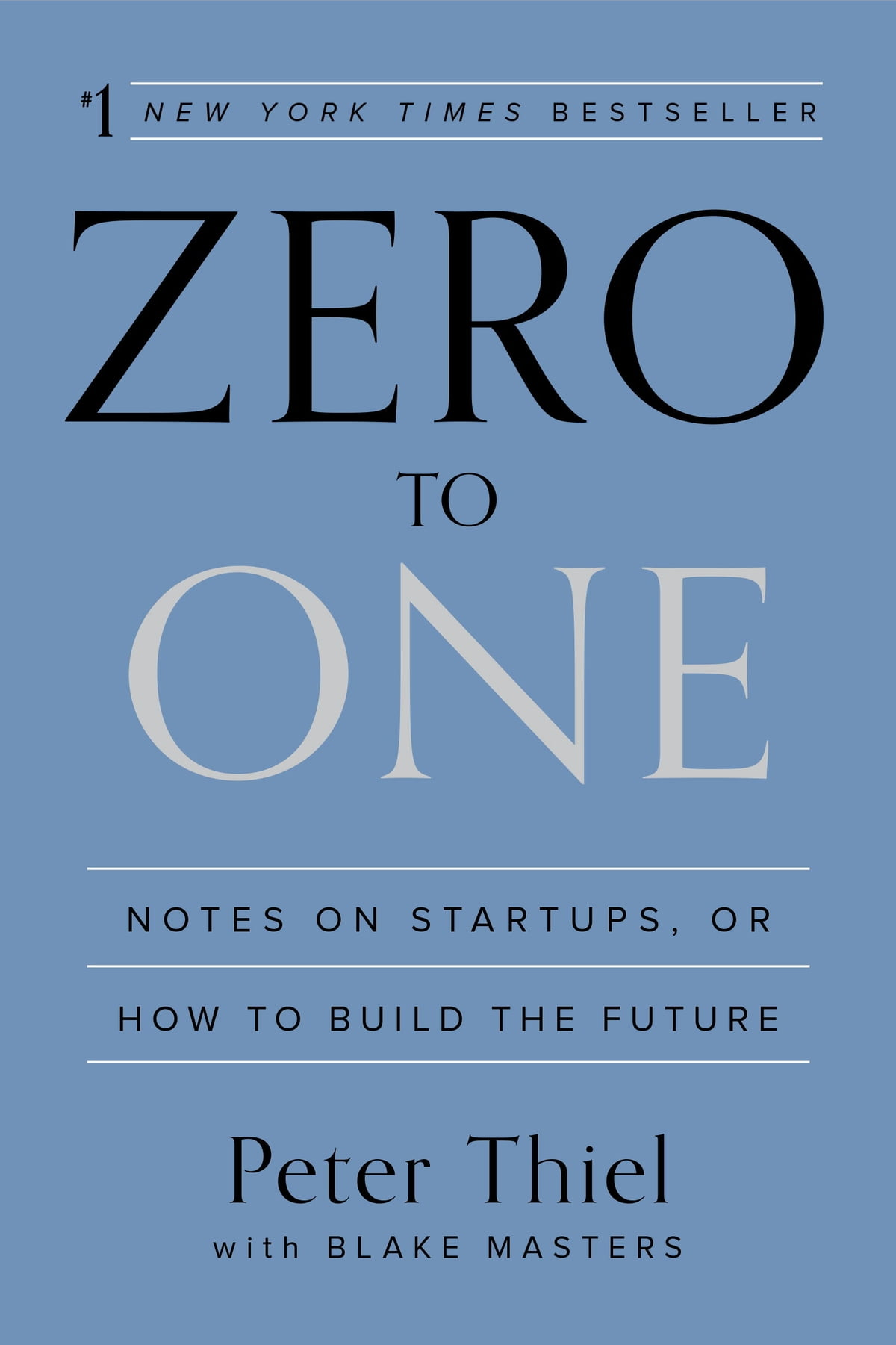 Zero To One  Notes On Startups, Or How To Build The Future Ebook By