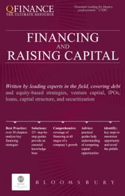 Financing and Raising Capital ebook by Bloomsbury Publishing