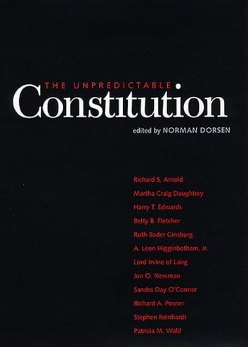 The Unpredictable Constitution ebook by