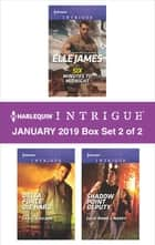 Harlequin Intrigue January 2019 - Box Set 2 of 2 - An Anthology ebook by Elle James, Carol Ericson, Julie Anne Lindsey