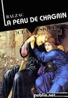 La Peau de chagrin ebook by Honoré (de) Balzac