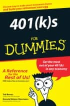 401(k)s For Dummies ebook by Ted Benna,Brenda Watson Newmann