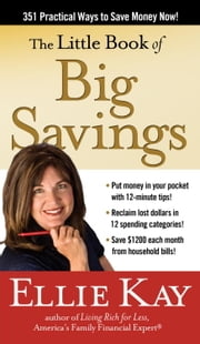 The Little Book of Big Savings - 351 Practical Ways to Save Money Now ebook by Ellie Kay