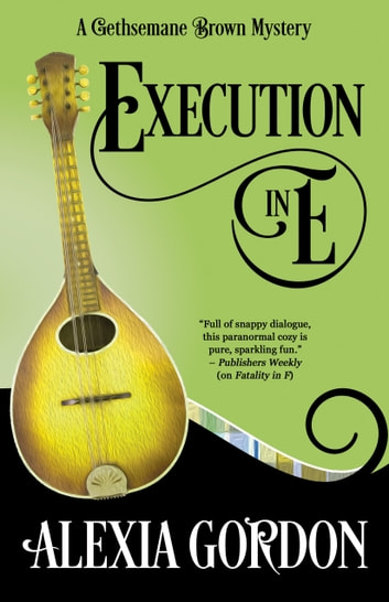 EXECUTION IN E ebook by Alexia Gordon