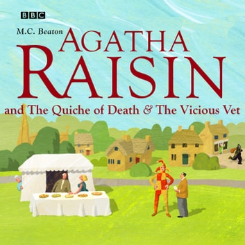 Agatha Raisin - The Curious Curate & The Buried Treasure Vol 3 audiobook by M.C. Beaton