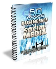 50 ways businesses can use social media ebook by Federico Calafati