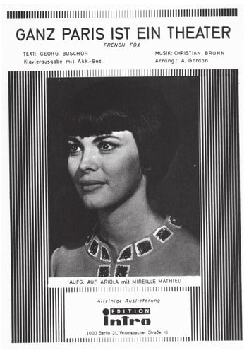 Ganz Paris ist ein Theater - as performed by Mireille Mathieu, Single Songbook ebook by Georg Buschor,Christian Bruhn