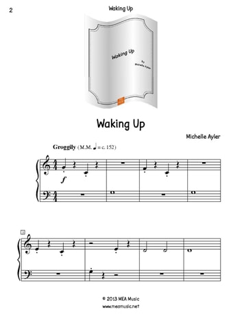 Waking Up ebook by Michelle Ayler
