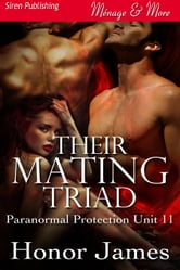 Their Mating Triad ebook by Honor James