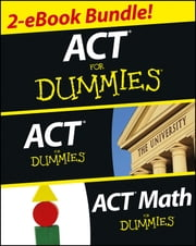 ACT For Dummies Two eBook Bundle - ACT For Dummies & ACT Math For Dummies ebook by Scott Hatch