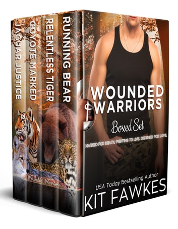 Wounded Warriors Boxed Set ebook by Kit Fawkes