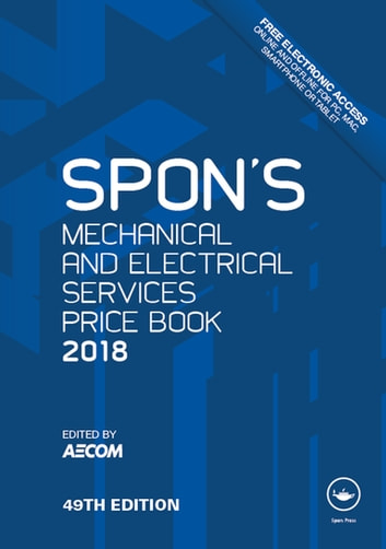 Spons mechanical and electrical services price book 2018 ebook by spons mechanical and electrical services price book 2018 ebook by fandeluxe Images