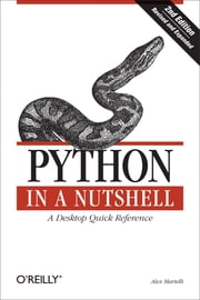 Python in a Nutshell ebook by Alex Martelli