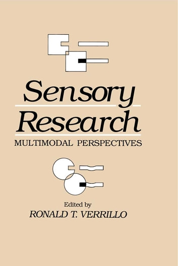 Sensory Research - Multimodal Perspectives ebook by