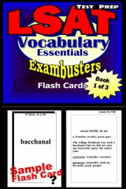 LSAT Test Prep Essential Vocabulary--Exambusters Flash Cards--Workbook 1 of 3 - LSAT Exam Study Guide ebook by LSAT Exambusters