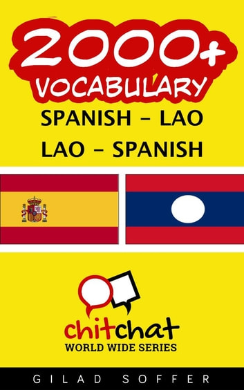 2000+ Vocabulary Spanish - Lao ebook by Gilad Soffer