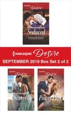 Harlequin Desire September 2019 - Box Set 2 of 2 ebook by Charlene Sands, Jules Bennett, Anna DePalo