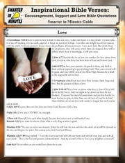 Inspirational Bible Verses: Encouragement, Support and Love Bible Quotations ebook by Nielson, Mariabelle C.