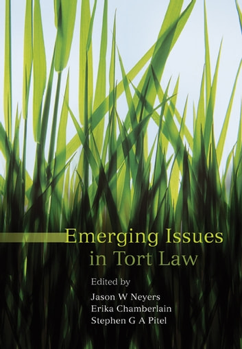 Emerging Issues in Tort Law ebook by