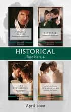 Historical Box Set 1-4 April 2020/Redeeming the Reclusive Earl/Compromised into Marriage/The Matchmaker and the Duke/Awakening th ebook by Ann Lethbridge, Liz Tyner, Virginia Heath,...
