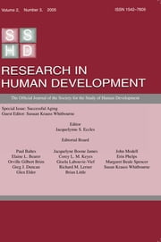 Successful Aging - A Special Issue of research in Human Development ebook by Susan Krauss Whitbourne