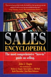 Sales Encyclopedia ebook by John Chapin