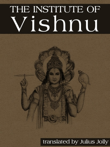 The Institutes Of Vishnu ebook by Julius Jolly