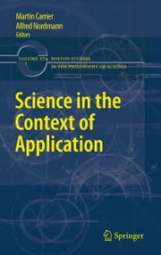 Science in the Context of Application ebook by Martin Carrier,Alfred Nordmann