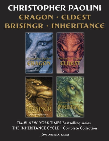 The Inheritance Cycle Complete Collection - Eragon, Eldest, Brisingr, Inheritance ebook by Christopher Paolini