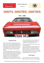 Ferrari 308/328 Buying Guide ebook by Mellor, Chris