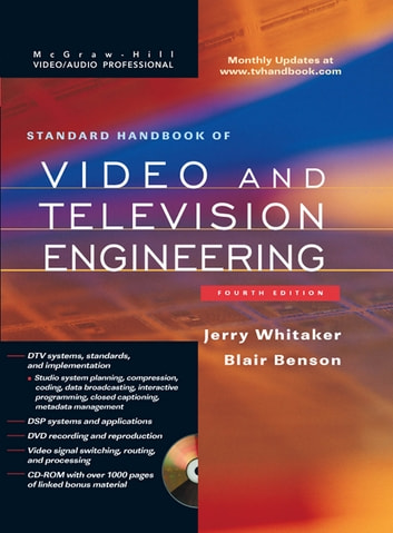 Standard Handbook of Video and Television Engineering ebook by Jerry C. Whitaker,Blair K. Benson