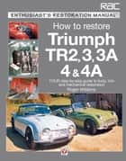Triumph TR2, 3, 3A, 4 & 4A - Enthusiast's Restoration Manual ebook by Roger Williams