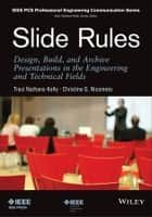 Slide Rules ebook by Traci Nathans-Kelly,Christine G. Nicometo
