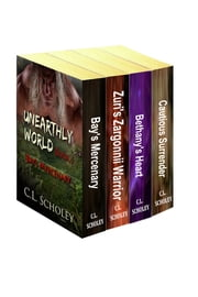 C.L. Scholey's 4-Book Box Set - Bay's Mercenary, Zuri's Zargonnii Warrior, Bethany's Heart, and Cautious Surrender ebook by C. L. Scholey