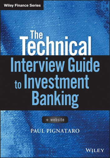 The Technical Interview Guide To Investment Banking Website E