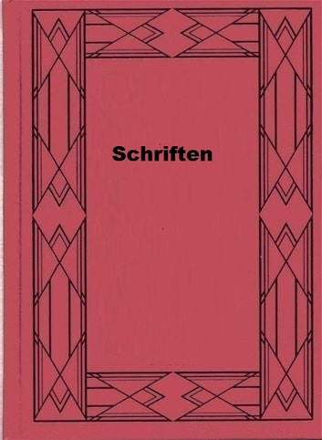 Schriften ebook by Hugo Ball