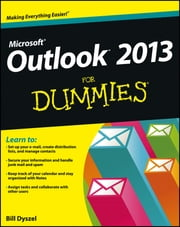 Outlook 2013 For Dummies ebook by Bill Dyszel