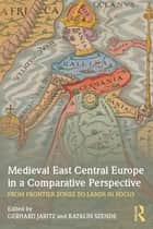 Medieval East Central Europe in a Comparative Perspective - From Frontier Zones to Lands in Focus ebook by Gerhard Jaritz, Katalin Szende