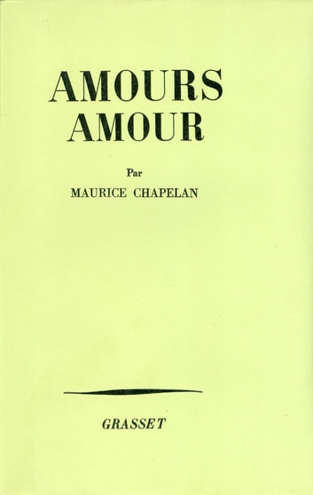 Amours, amour ebook by Maurice Chapelan