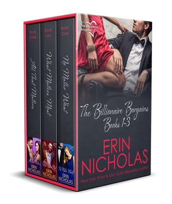 The Billionaire Bargains - boxed set ebook by Erin Nicholas