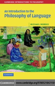 Intro Philosophy Language ebook by Morris,Michael