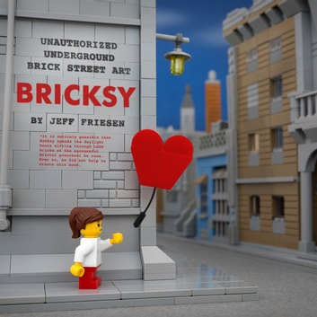 Bricksy - Unauthorized Underground Brick Street Art ebook by