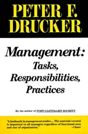 Management ebook by Peter F. Drucker