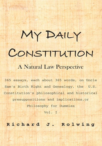 role of constitution in our daily life essay