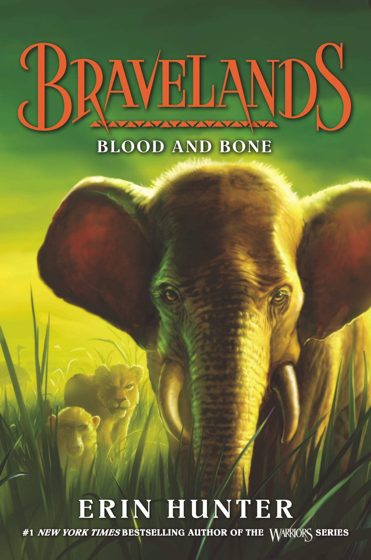 Bravelands 3 Blood And Bone Ebook By Erin Hunter