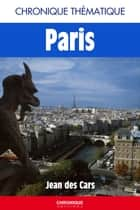 Chronique de Paris ebook by Éditions Chronique