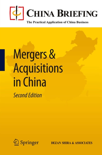 Mergers & Acquisitions in China ebook by