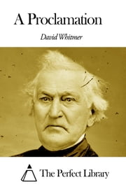 A Proclamation ebook by David Whitmer