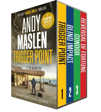 The Gabriel Wolfe Boxset 1 ebook by Andy Maslen